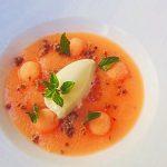 【メロンのスープ】ミュスカを使った、ちょっとだけ大人のレシピ。