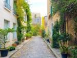 【パリ】外出制限5日目。町の様子と秋の美しい小道。