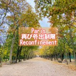 フランスは再び外出制限に。パリの現状を秋のリュクサンブール公園から