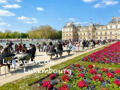 【フランス、ロックダウン解除】暖かい日のリュクサンブール公園。レストラン半年ぶりに再開!Le Jardin du Luxembourg